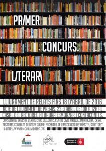 1er Concurs Literari de Sant Jordi