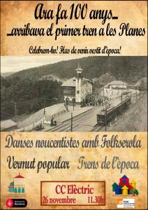 cartell-del-centenari-de-larribada-del-ferrocarril-a-les-planes