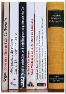 Cartell 2on Concurs Literari de Collserola
