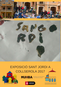 EXPOSICIÓ SANT JORDI A COLLSEROLA 2017