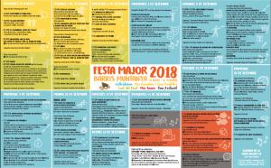 FESTA MAJOR VALLVIDRERA 2018